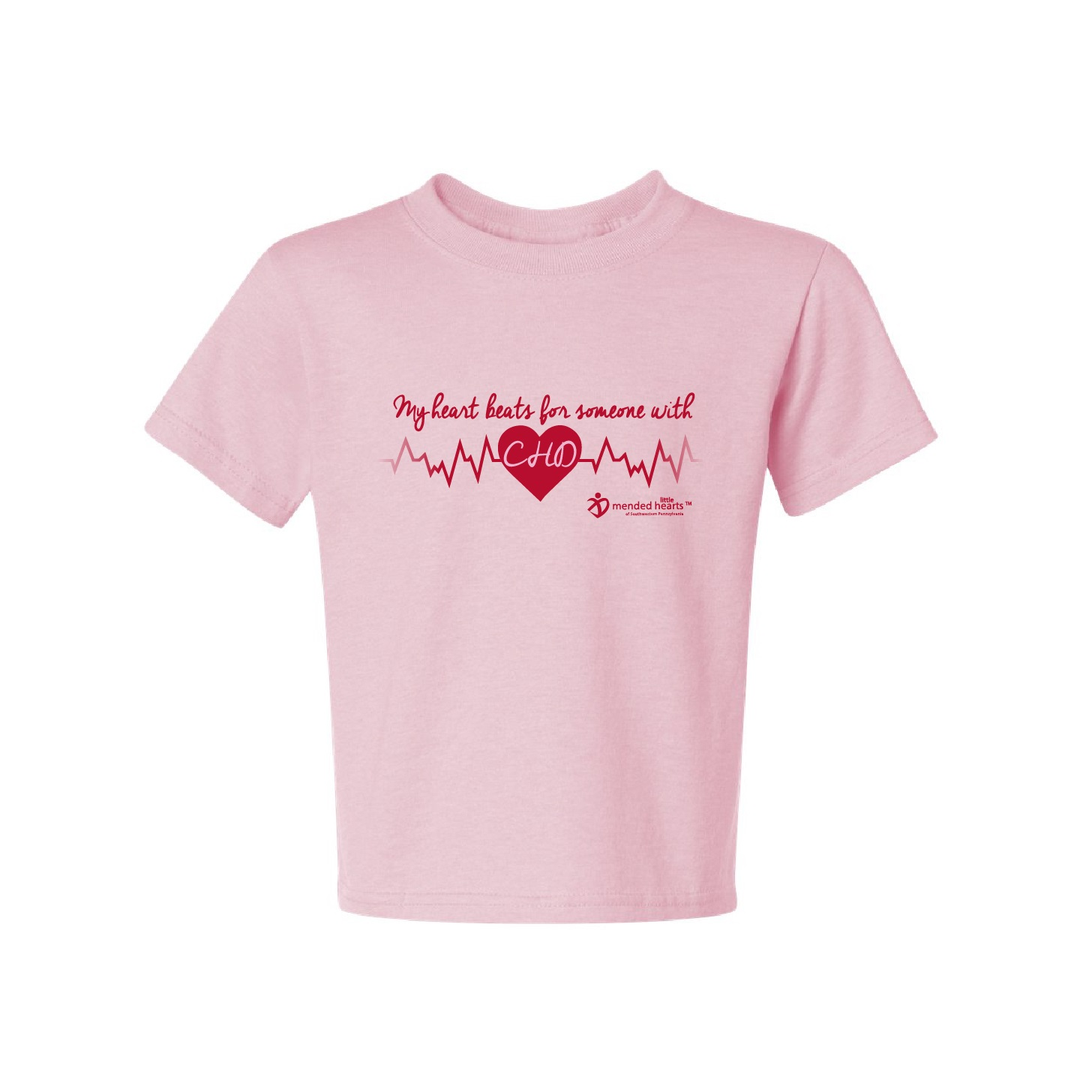 My Heart Beats for Someone with CHD! Available In Multiple Colors!