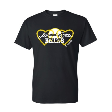MLH Baseball T-Shirt – Black