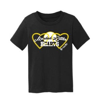 MLH Toddler Baseball T-Shirt – Black