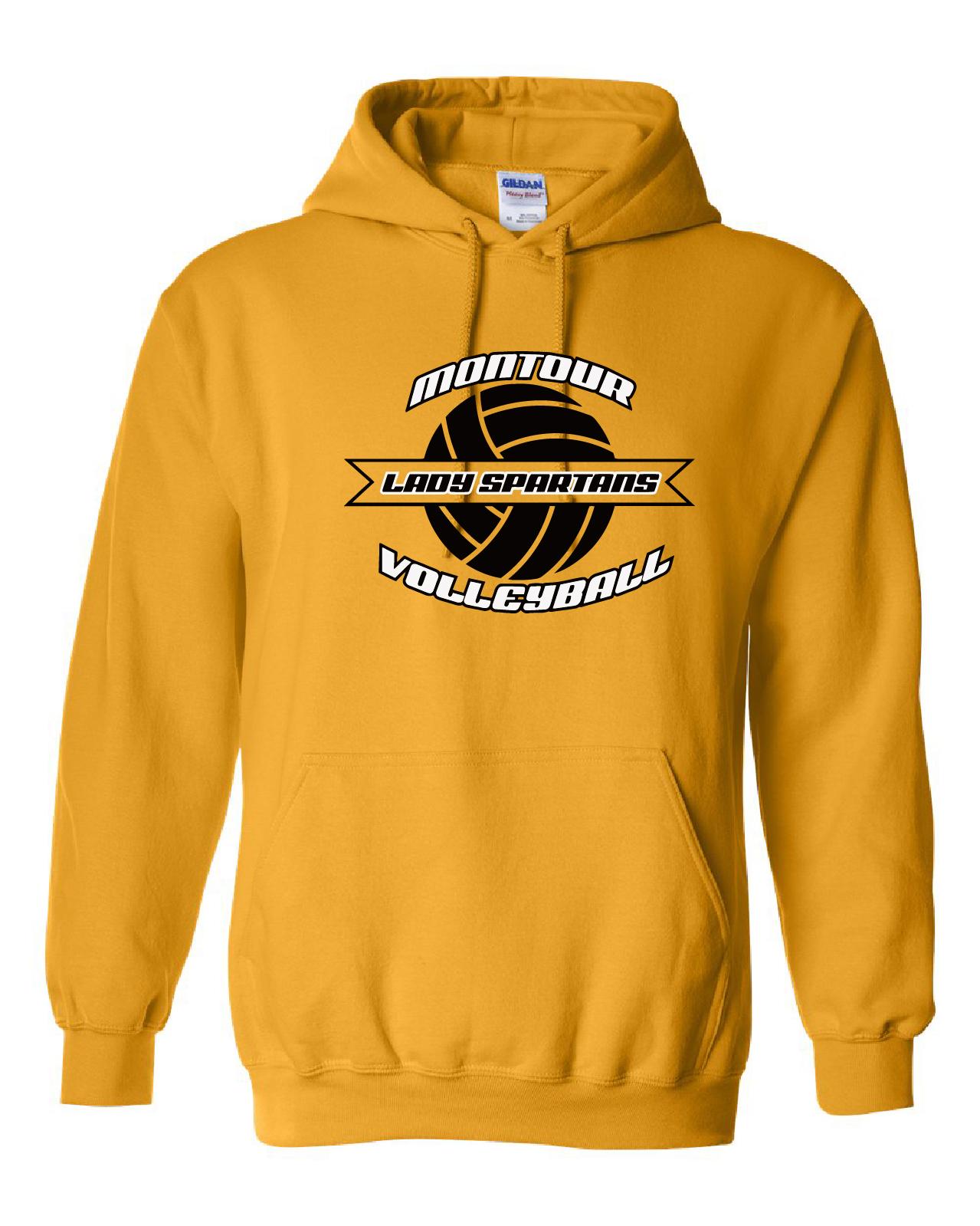 Gildan - Heavy Blend Hooded Sweatshirt DESIGN B