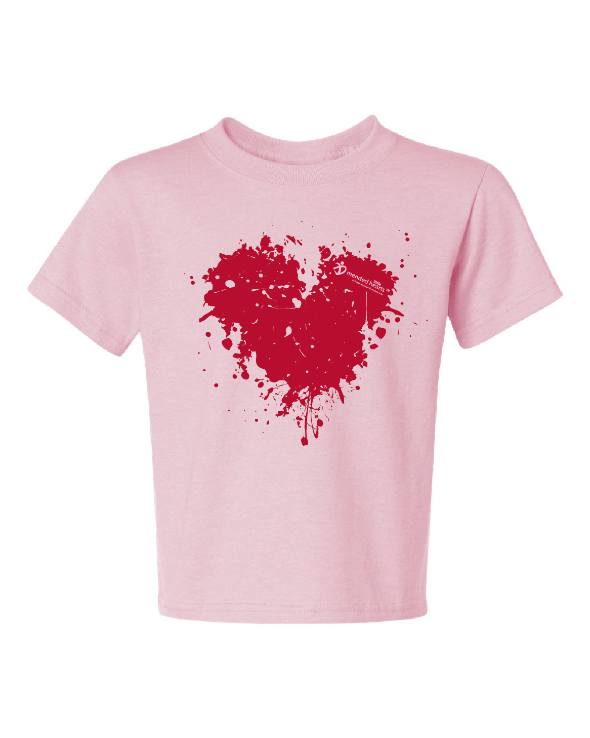 Splatter Heart Youth T-Shirt Available in Multiple Colors