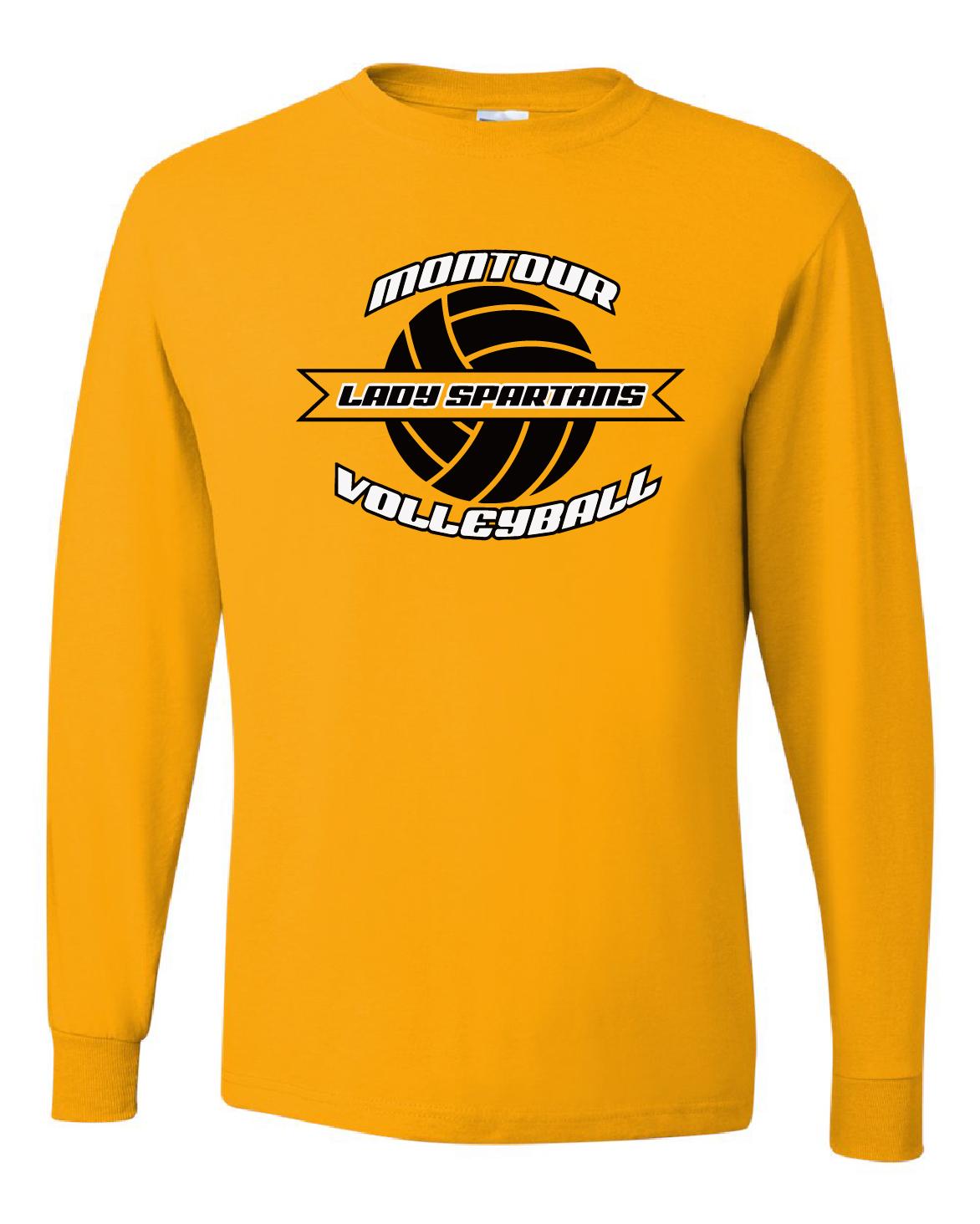 Jerzees – Dri-Power® Long Sleeve 50/50 T-Shirt DESIGN B