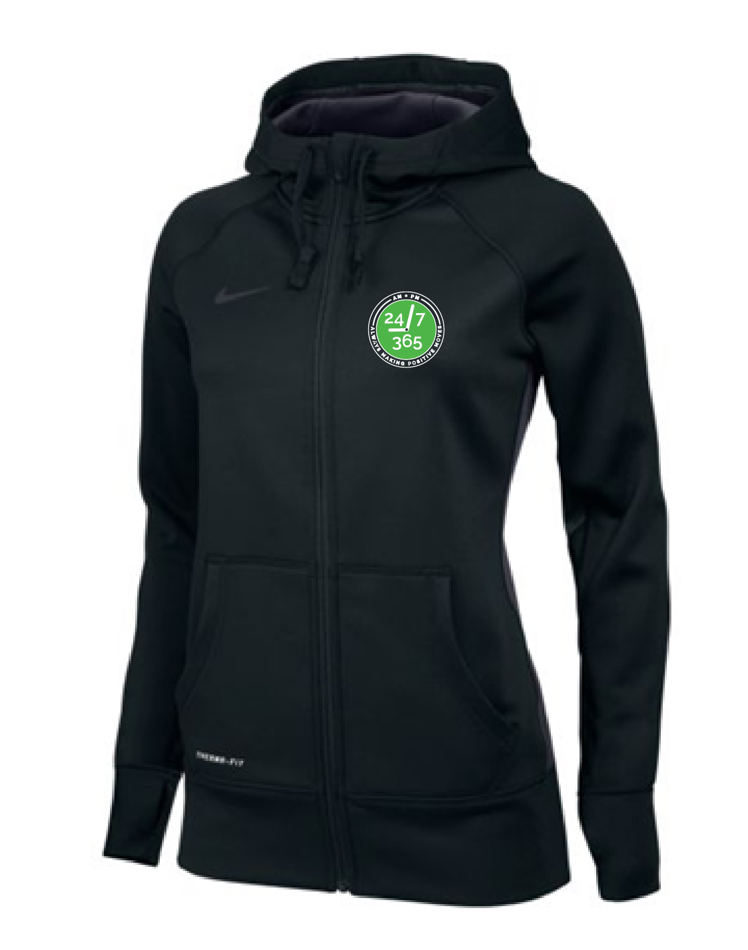 Women's Full-Zip Training Hoodie
