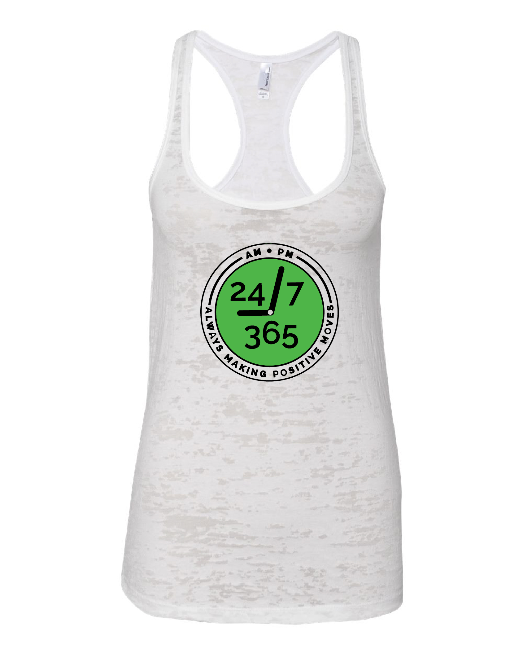 Women's Burnout Racerback Tank