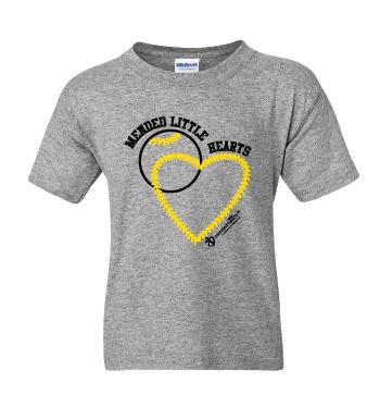 MLH Baseball Youth T-Shirt - Grey