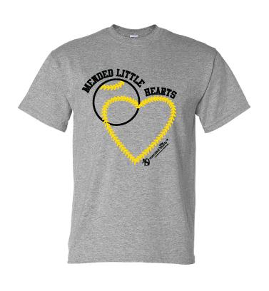 MLH Baseball T-Shirt - Sport Grey