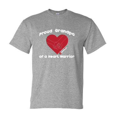 Proud Grandpa T-Shirt - Available in Black or Sport Grey