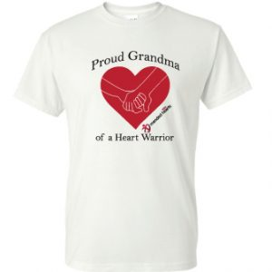 Proud Grandma T-Shirt – Available in Light Pink or White