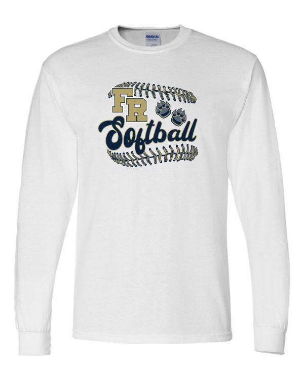 Gildan - DryBlend 50/50 Long Sleeve T-Shirt - DESIGN A