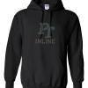 Gildan Heavy Blend Hooded Sweatshirt with Bling