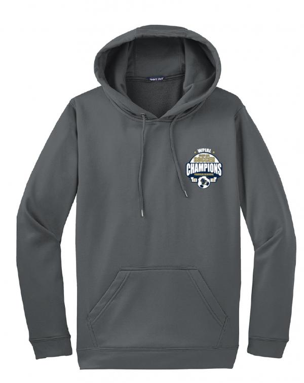 Sport-Tek Sport-Wick Fleece Embroidered Hooded Pullover