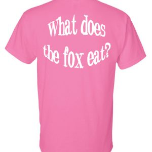 Gildan – DryBlend 50/50 T-Shirt – What does the Fox Eat?