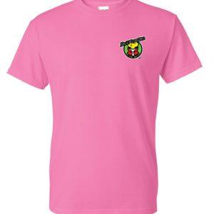 Gildan DryBlend 50/50 T-Shirt – Silkscreen 5 Color Logo
