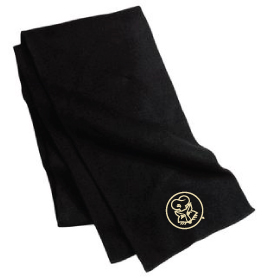 Port & Company® - Knitted Scarf with Penguins Logo