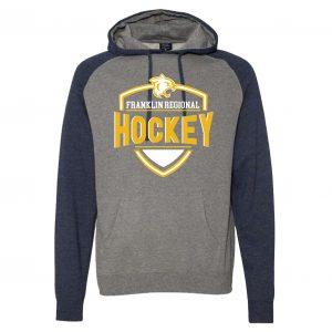 Independent Trading Company Raglan Hooded Sweatshirt