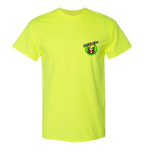 Gildan DryBlend 50/50 T-Shirt – Silkscreen 5 Color Logo