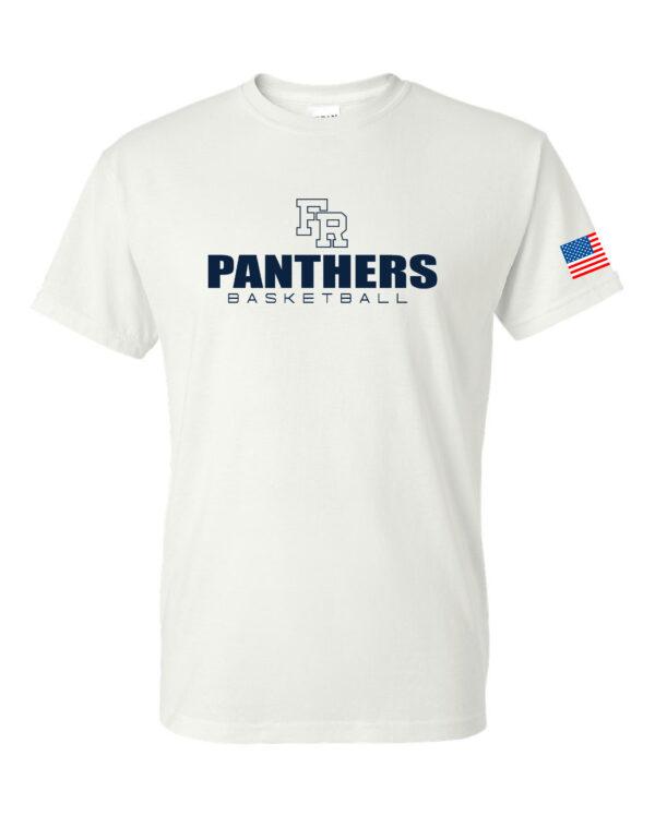 Gildan - DryBlend 50/50 T-Shirt - 6th Man 2 Color - With Flag