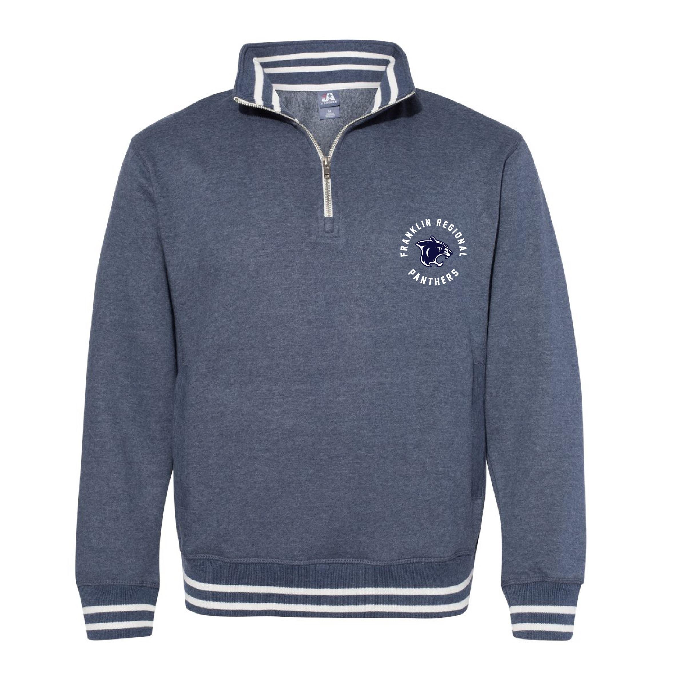 J. America Fleece 1/4 Zip Sweatshirt