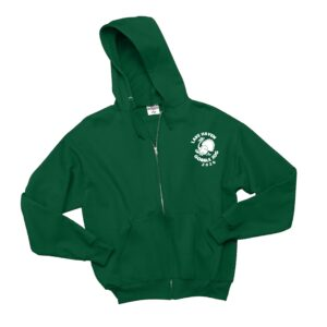 Jerzees Full-Zip Hooded Sweatshirt