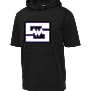 Sport-Tek Fleece Short Sleeve Hooded Pullover