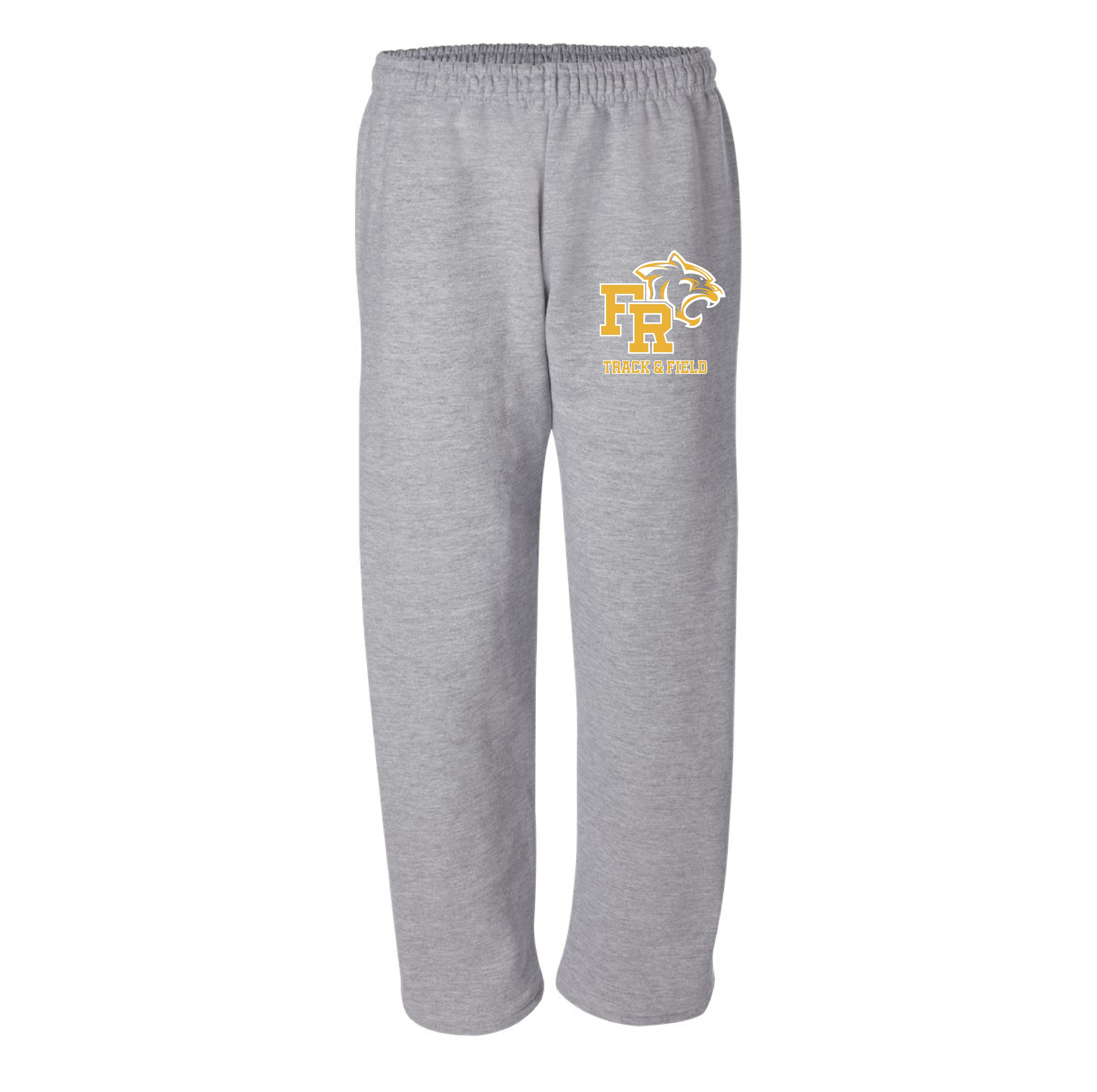 Gildan Open Bottom Sweatpants with Pockets