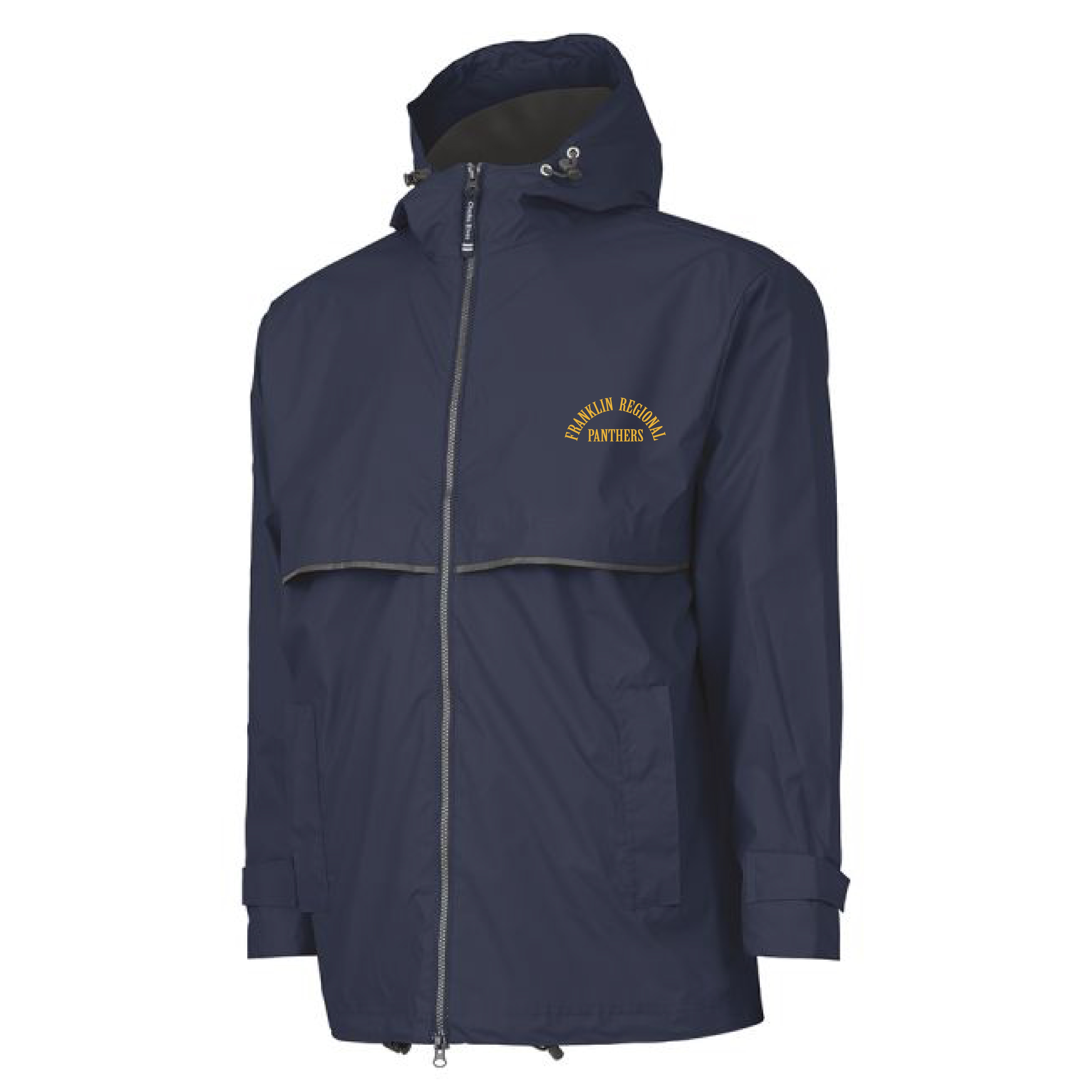 Charles River EMBROIDERED Rain Jacket