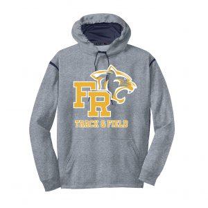 Sport-Tek Fleece Colorblock Hooded Sweatshirt