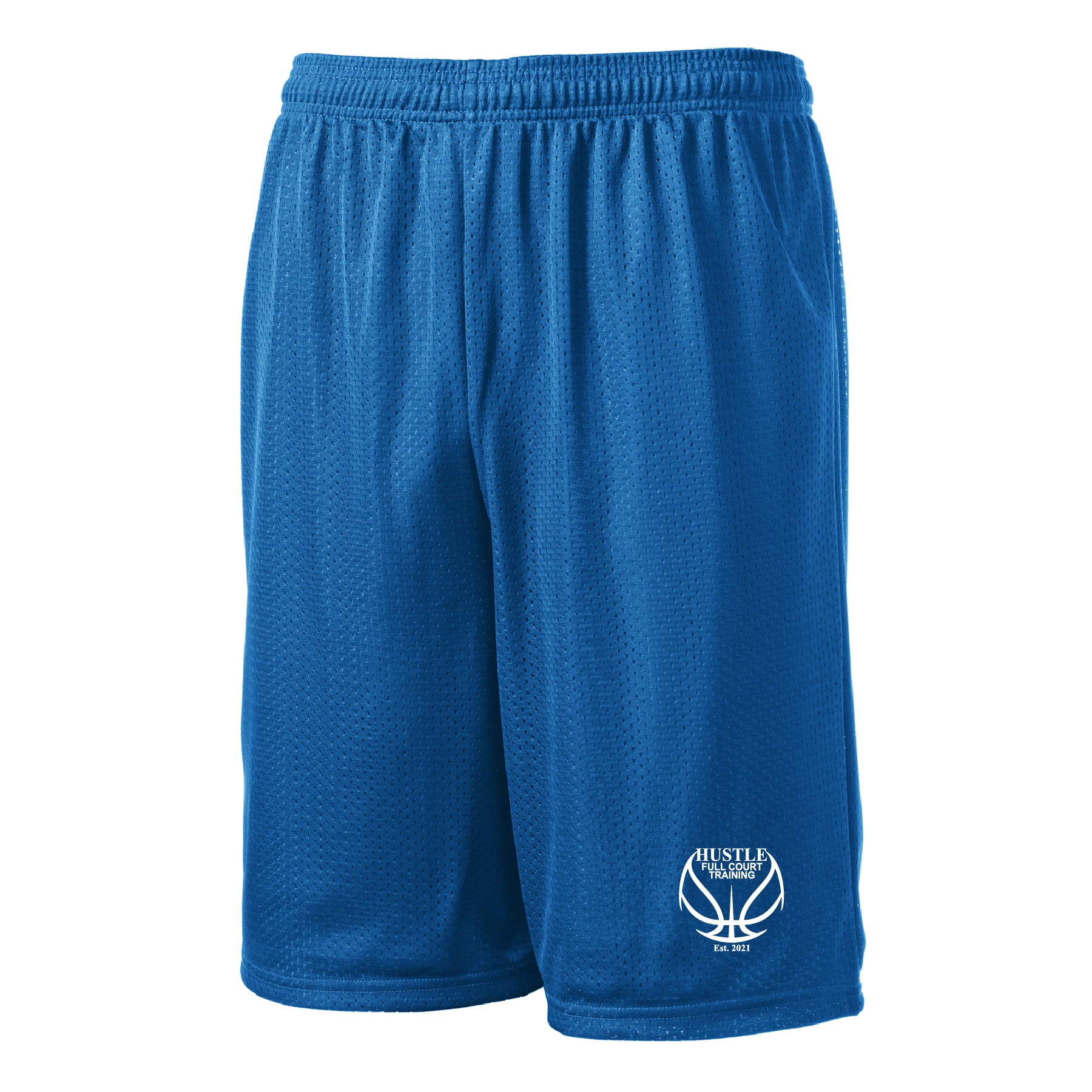 Sport-Tek Long PosiCharge Mesh Shorts