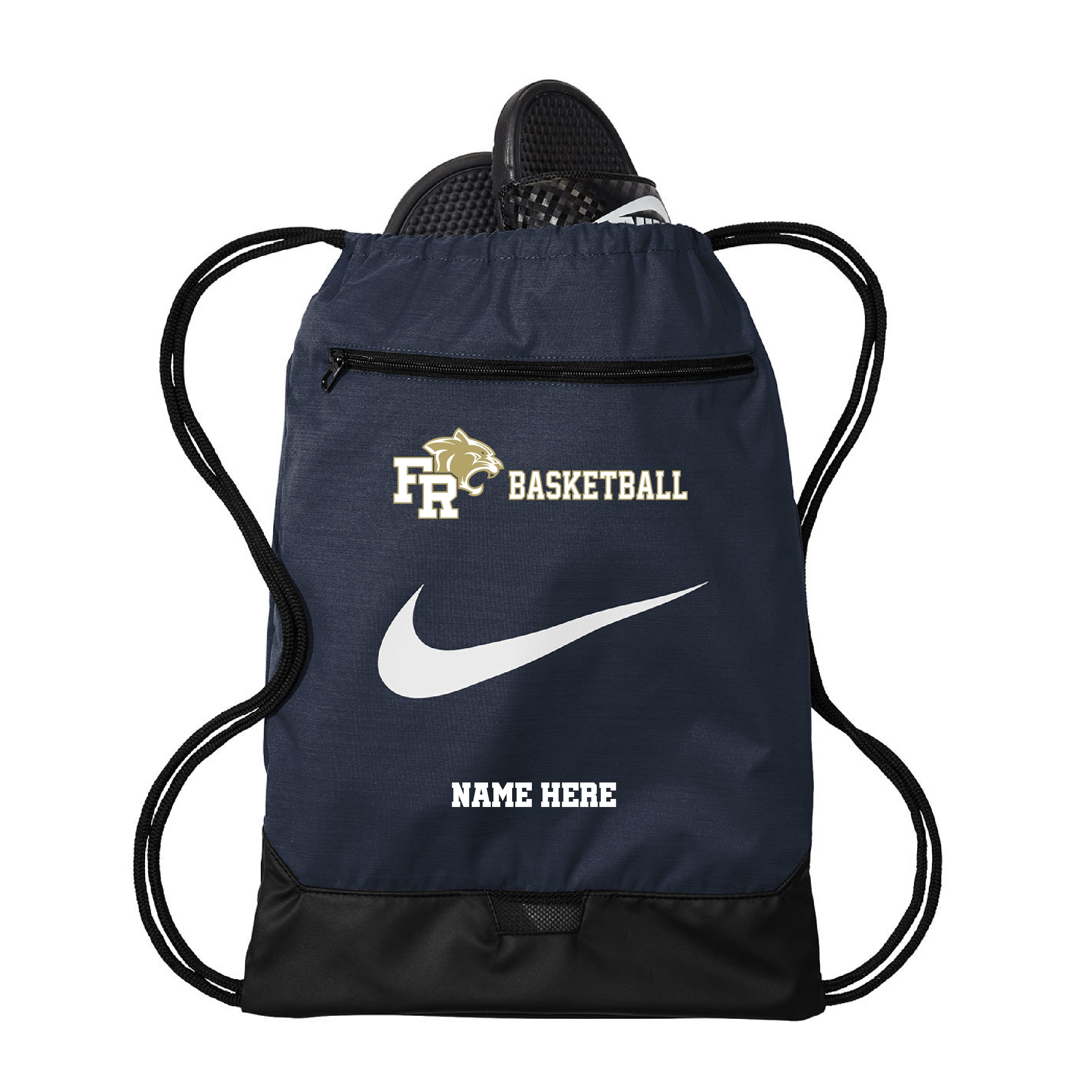 Nike Brasilia Gym Sack with Name