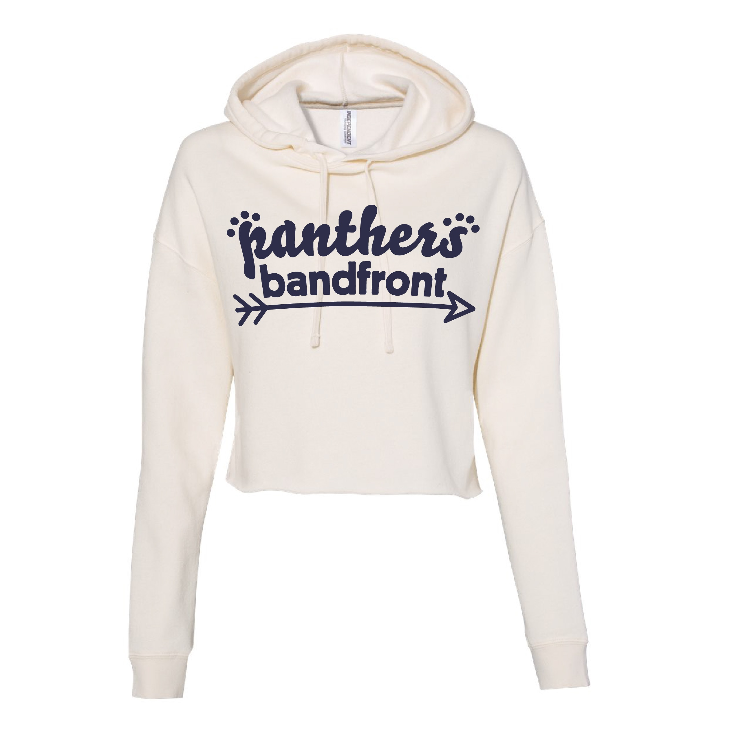 Independent Trading Co. Women's Lightweight Cropped Hoodie