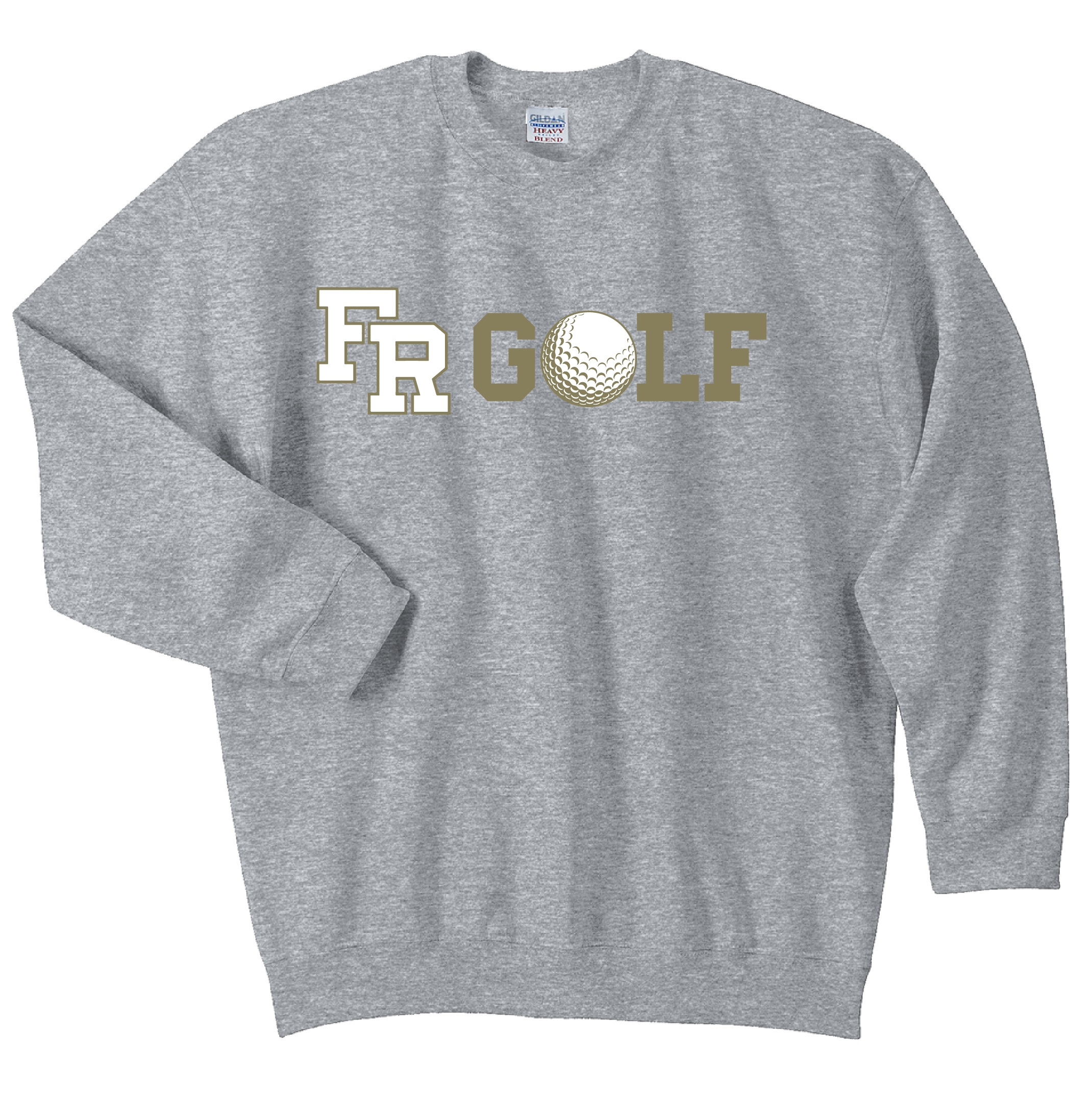 Gildan Heavy Blend Crewneck Sweatshirt  (Available in Navy or Grey)
