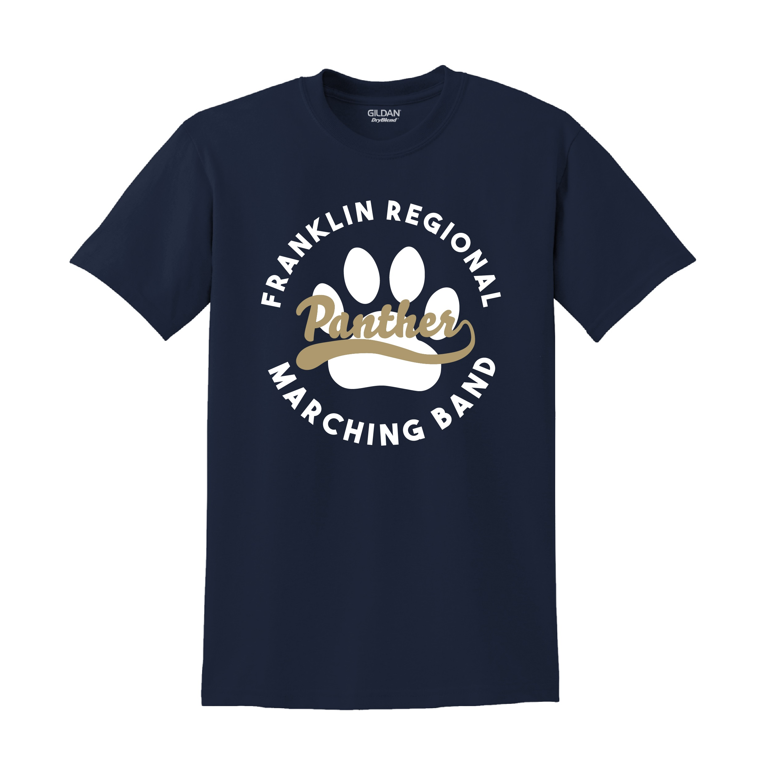 Gildan DryBlend 50/50 T-Shirt (Available in Navy or Sport Grey)