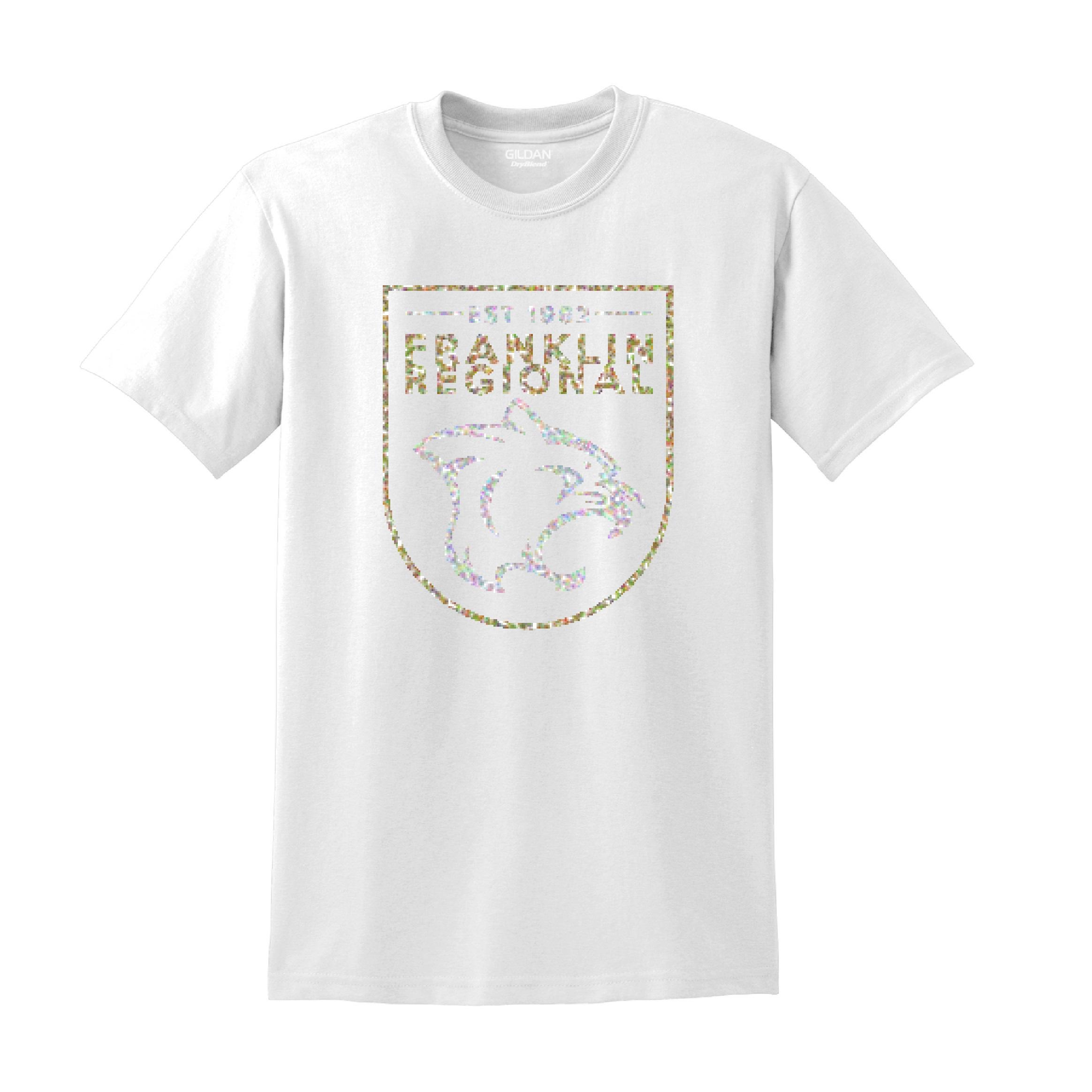 Gildan DryBlend 50/50 T-Shirt GLITTER