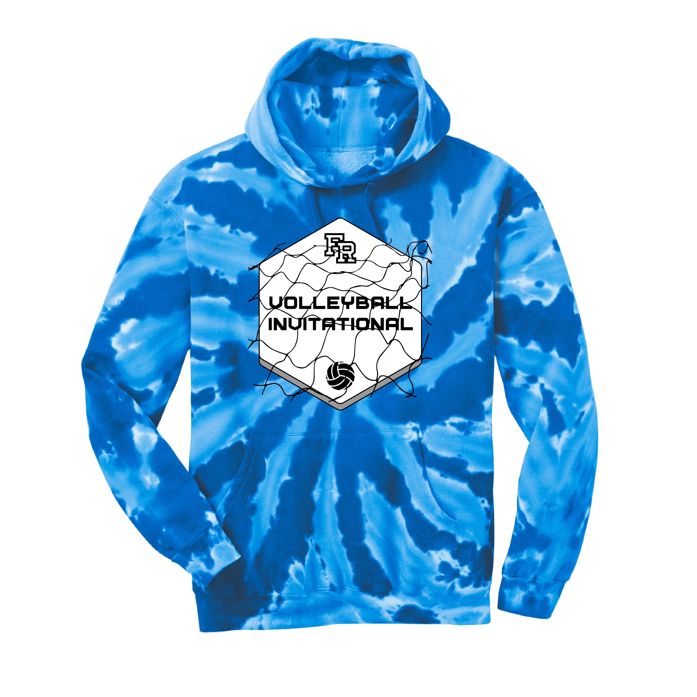 Port & Company Tie-Dye Hooded Sweatshirt